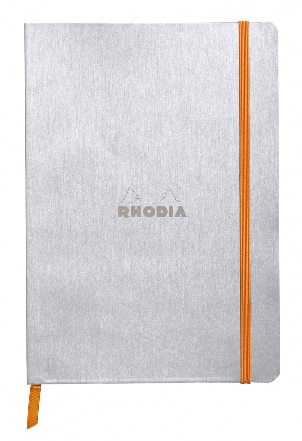 "Rhodia Soft Cover Rhodiarama 7.5"" x 9.75"" Notebook Silver"