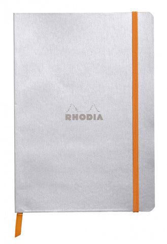 Rhodia Soft Cover Rhodiarama Silver Notebook