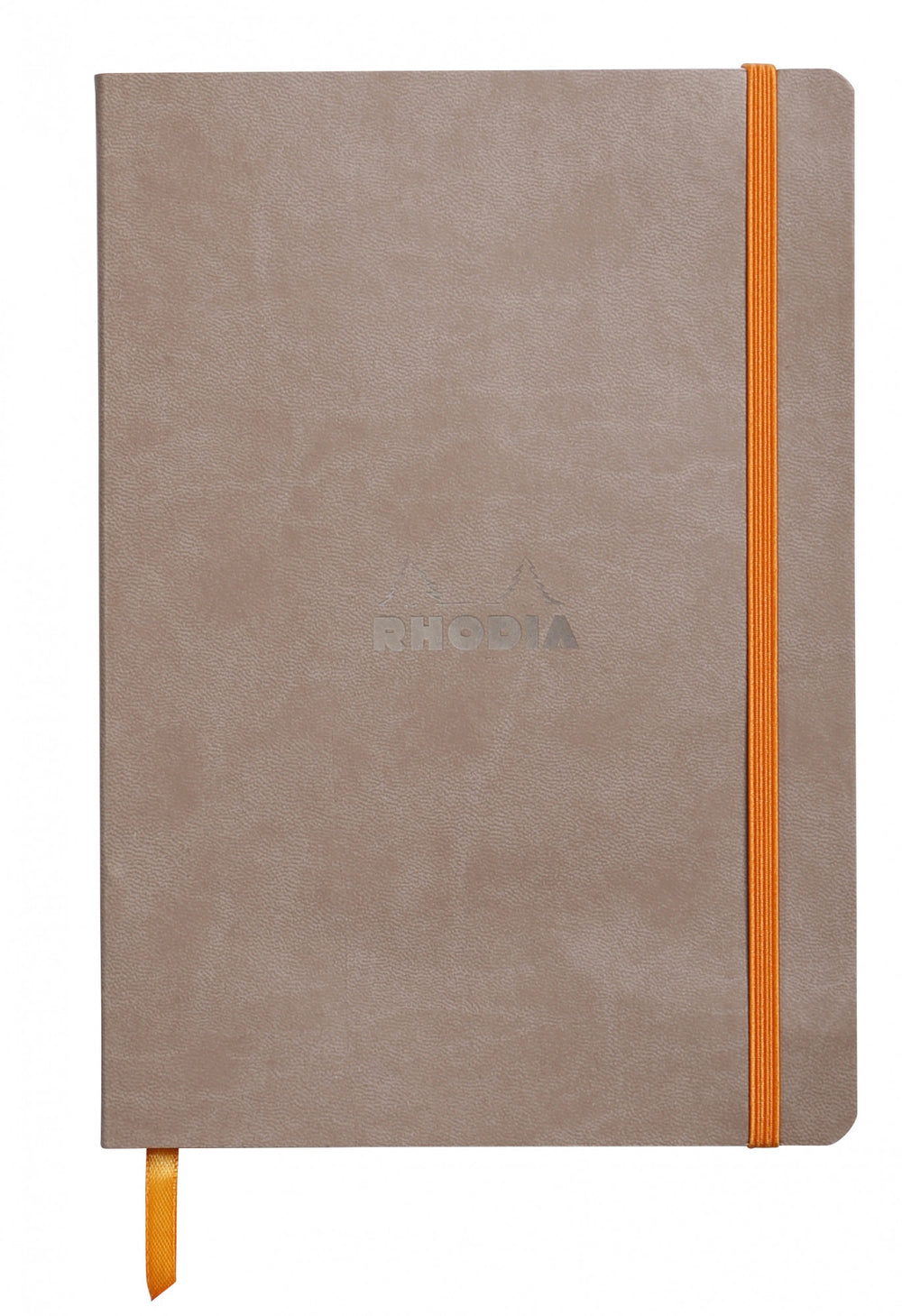 "Rhodia Soft Cover Rhodiarama 7.5"" x 9.75"" Notebook Taupe"