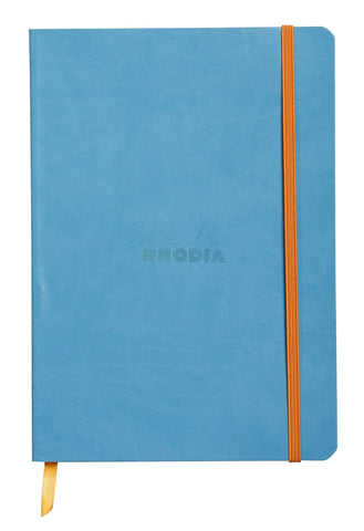 "Rhodia Soft Cover Rhodiarama 7.5"" x 9.75"" Turquoise Notebook"