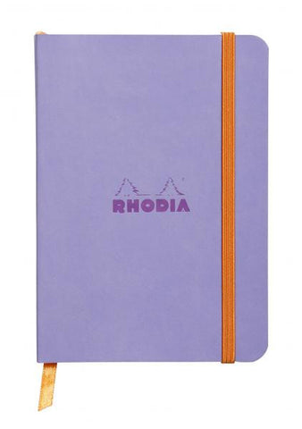 Rhodia Soft Cover Rhodiarama A6 Iris Notebook