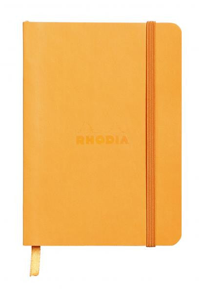 Rhodia Soft Cover Rhodiarama A6 Notebook Orange