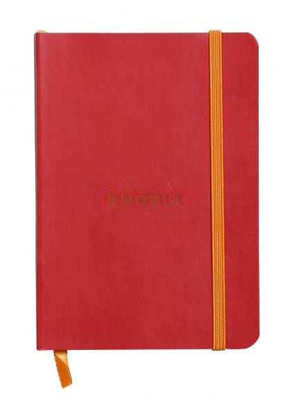 Rhodia Soft Cover Rhodiarama A6 Notebook Poppy Red
