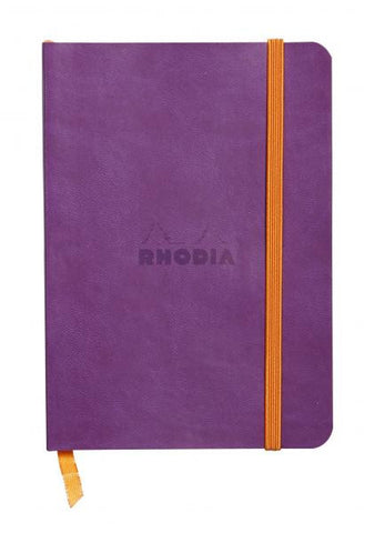 Rhodia Soft Cover Rhodiarama A6 Purple Notebook