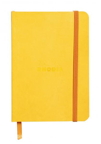 Rhodia Soft Cover Rhodiarama A6 Yellow Notebook
