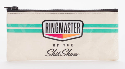 "Blue Q Pencil Pouch ""Ringmaster"""