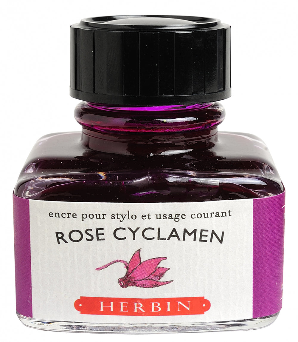 J Herbin Rose Cyclamen