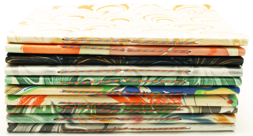 Studio Salvage Crafts Assorted Marbled Cover Notebook