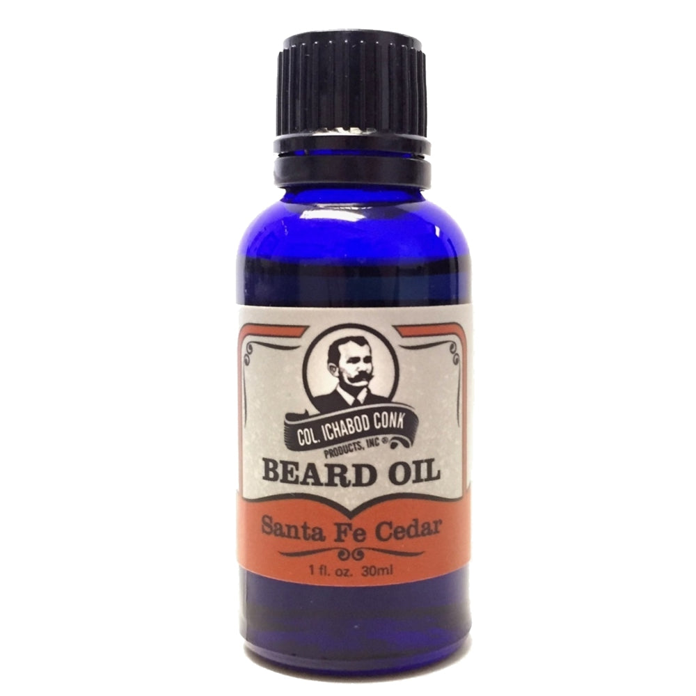 Colonel Conk Natural Santa Fe Cedar Beard Oil