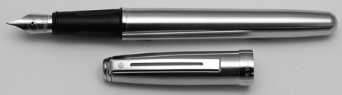 Sheaffer Prelude Brushed Chrome with Chrome Trim Ftn 340-0