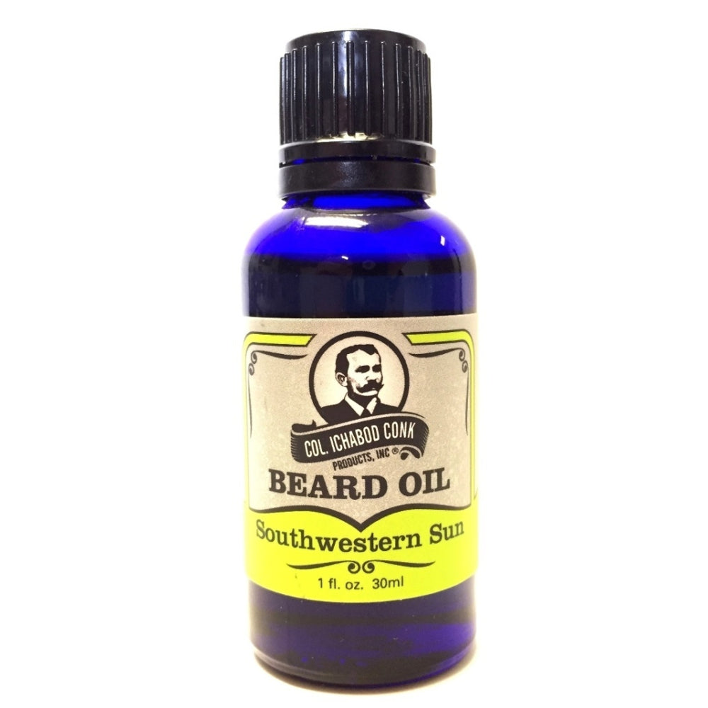 Colonel Conk Natural Southwestern Sun Beard Oil