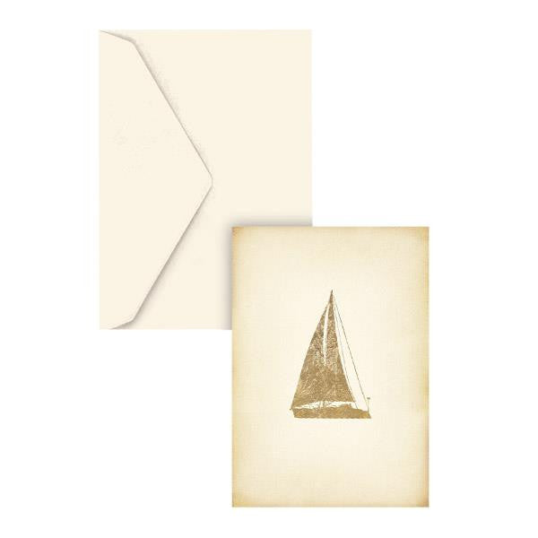 Graphique Sail Boat Cards