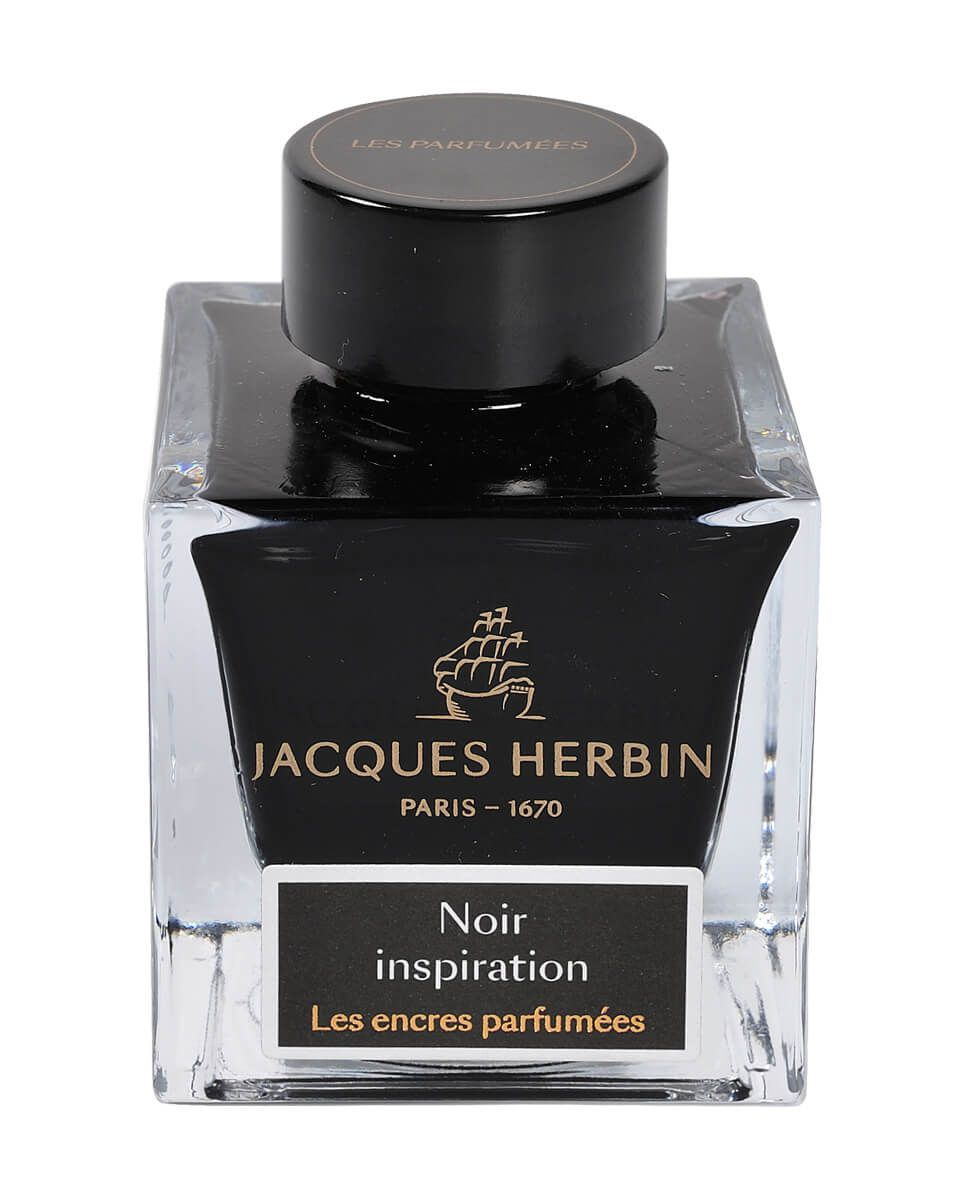 Jacques Herbin Essential Scented Noir Inspiration