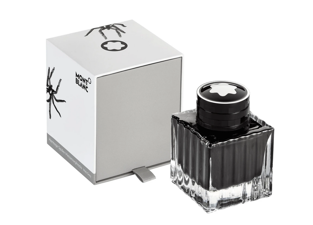 Montblanc Heritage Spider Metamorphosis, Web Grey Ink 50ml Bottle