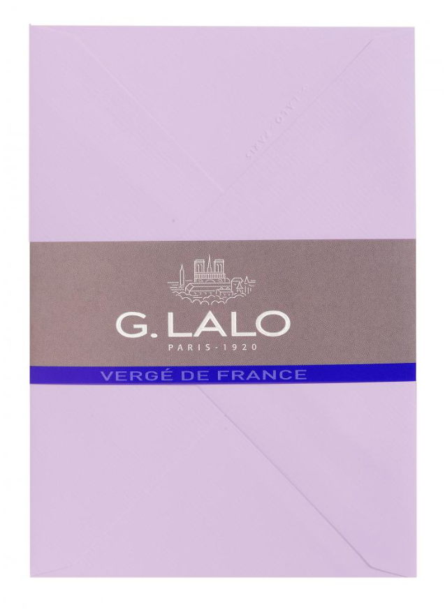 G. Lalo Verge de France Small Gummed Envelopes (25 Pack)