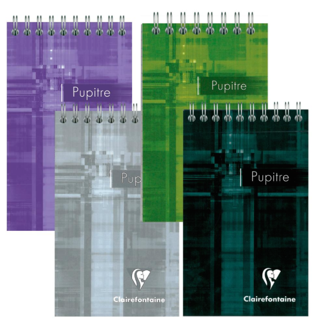 Clairefontaine Classics Top Wirebound Notepad 3 1/4 x 5 1/2 Graph