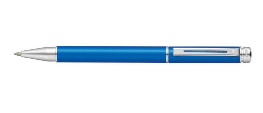 Sheaffer 200 Matte Metallic Blue Rollerball
