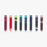 Color Write Fountain Pen Colored Ink Refills