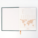 "DesignWorks Cloth Cover Journal- ""Acute Notebook"""