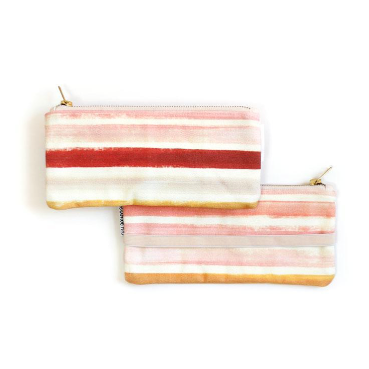 OneCanoeTwo Sunset Stripe Pen Pouch With Elastic Band