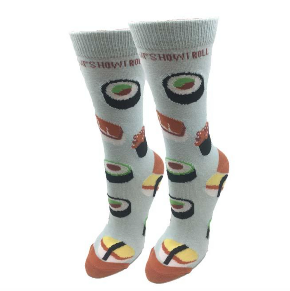 "Sock Harbor  |  Women's ""Sushi Roll"" Socks"
