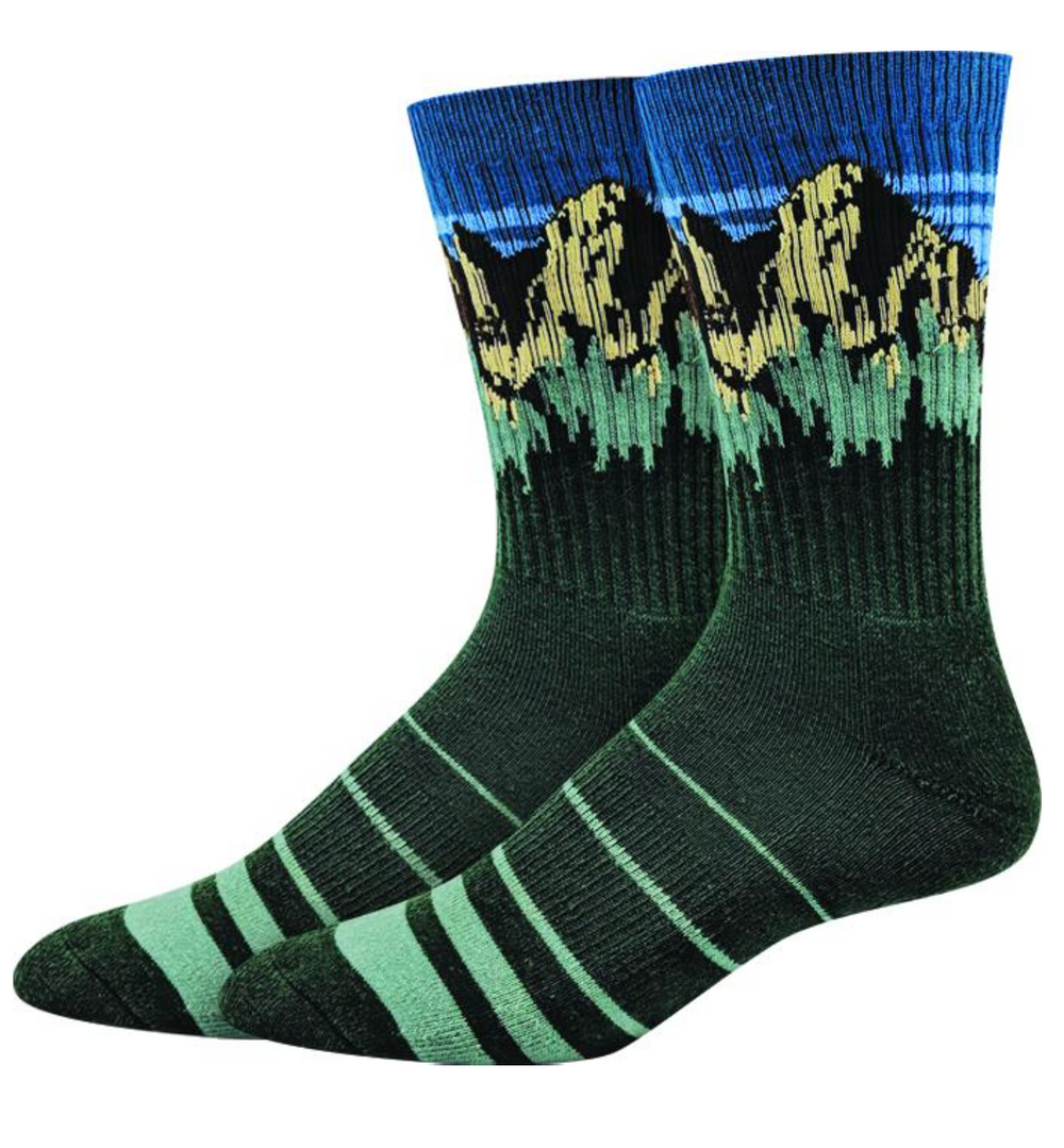 "Sock Harbor  |  Men's ""Mt. Whitney"" Active Socks"