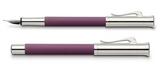 Faber-Castell Graf Guilloche Violet Blue Fountain