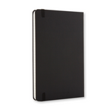"Moleskine Classic Collection  |  5"" x 8.25"" Ruled Notebook Black"