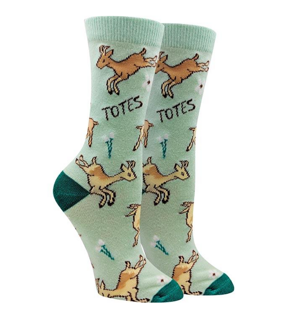 "Sock Harbor  |  Women's ""Totes Magoats"" Socks"