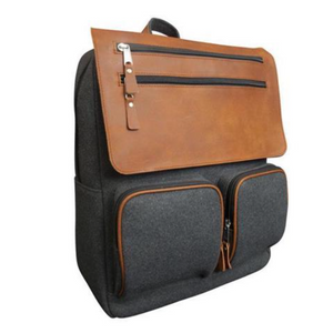 Canyon Leather Crosby Wool Backpack