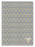 "Clairefontaine A5 Neo Deco Notebook ""Honeycomb"""