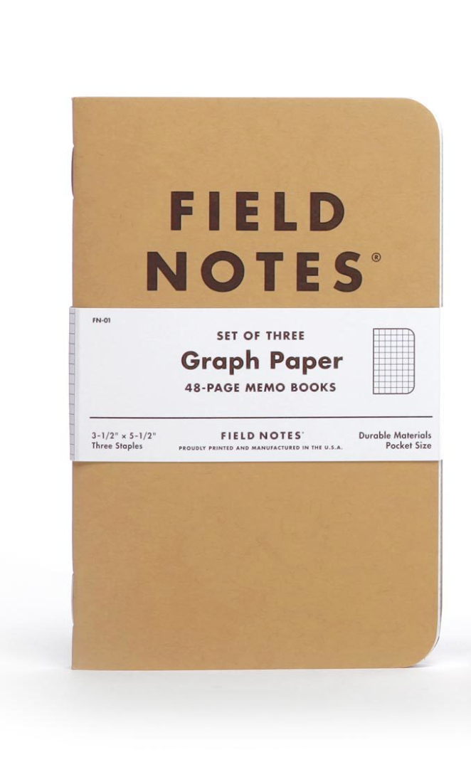 Field Notes Kraft Graph Paper