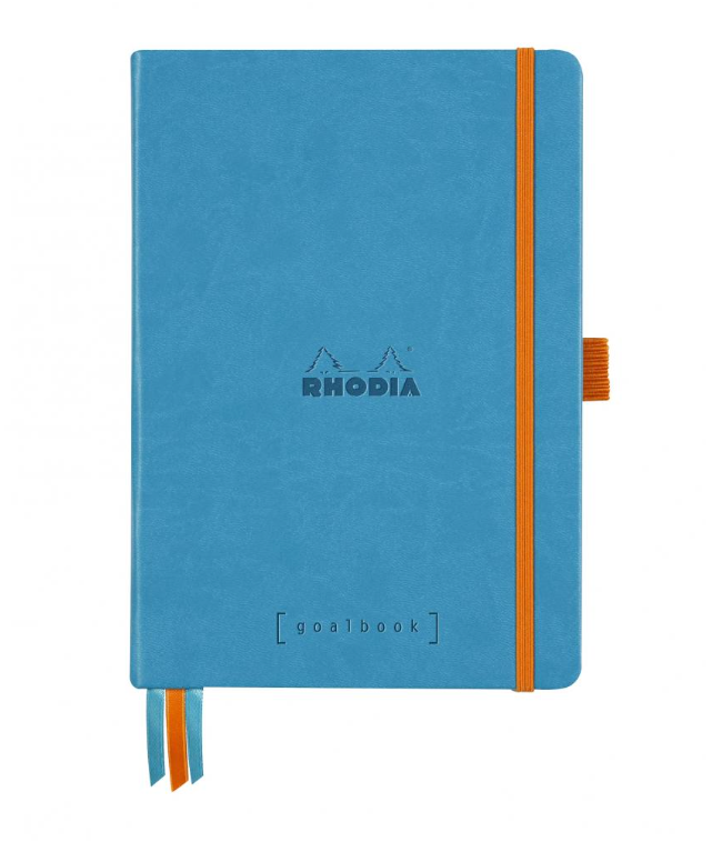 Rhodia A5 Hardcover Goalbook- Turquoise