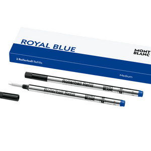 Montblanc Royal Blue Rollerball Refill