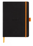 Rhodia Rhodiarama A5 Meeting Book w/ Pen Loop- Black
