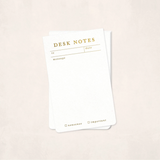 Smitten On Paper Desk Notes Notepad