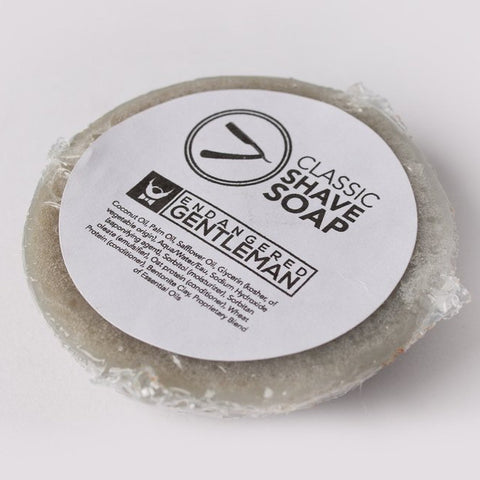 Endangered Gentleman Classic Shave Soap