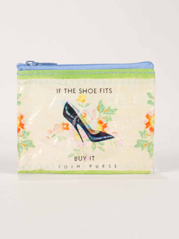 "Blue Q ""Shoe Money"" Coin Purse"