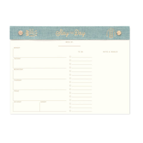"DesignWorks ""Slay the Day"" Weekly Desk Planner"