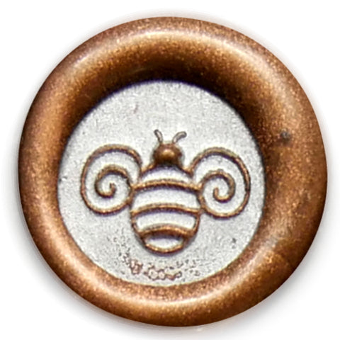 Global Solutions Metal Wax Seal Small Bee