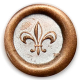 Global Solutions Metal Wax Seal Small Fleur de Lis