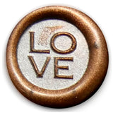 Global Solutions Metal Wax Seal Small LOVE
