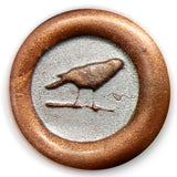 Global Solutions Metal Wax Seal Small Raven