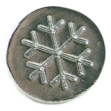 Global Solutions Metal Wax Seal Small Snowflake