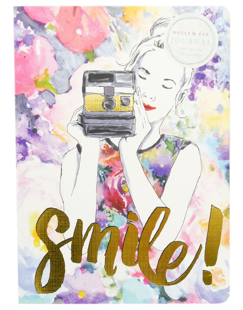 "Molly & Rex ""Smile!"" Softcover Journal"