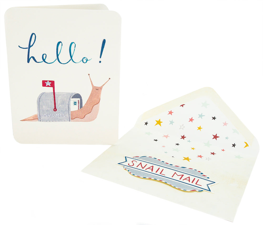 "Studio Oh! ""Hello!"" Snail Mail Greeting Card"