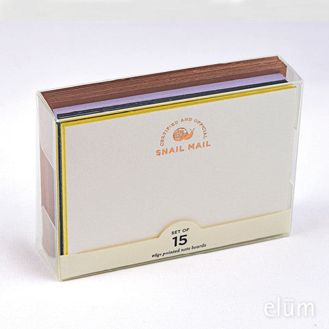 Elum Designs Certified Snail Mail Note Boards