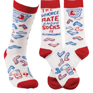 Primitives by Kathy - LOL Socks - Divorce Rate