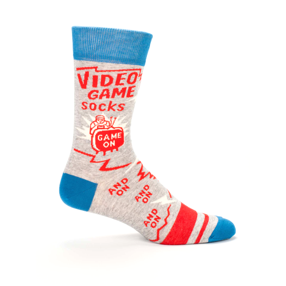 Blue Q Men's Socks, Video Game