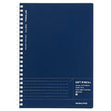 Kokuyo Biz A5 Soft Ring Notebook- Navy